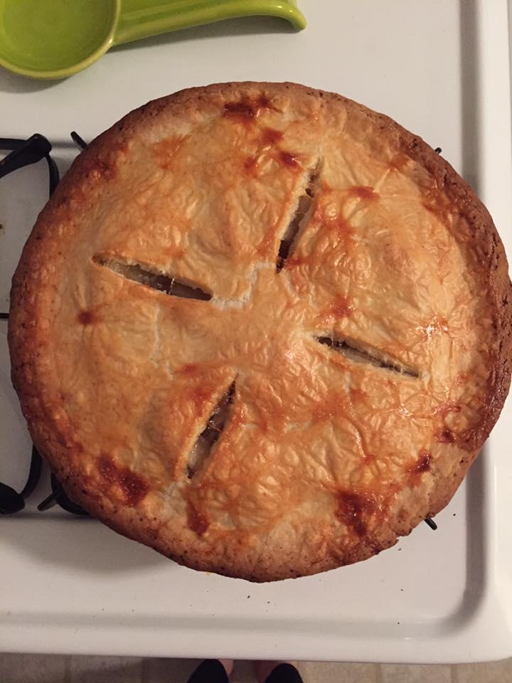 delicious looking pie