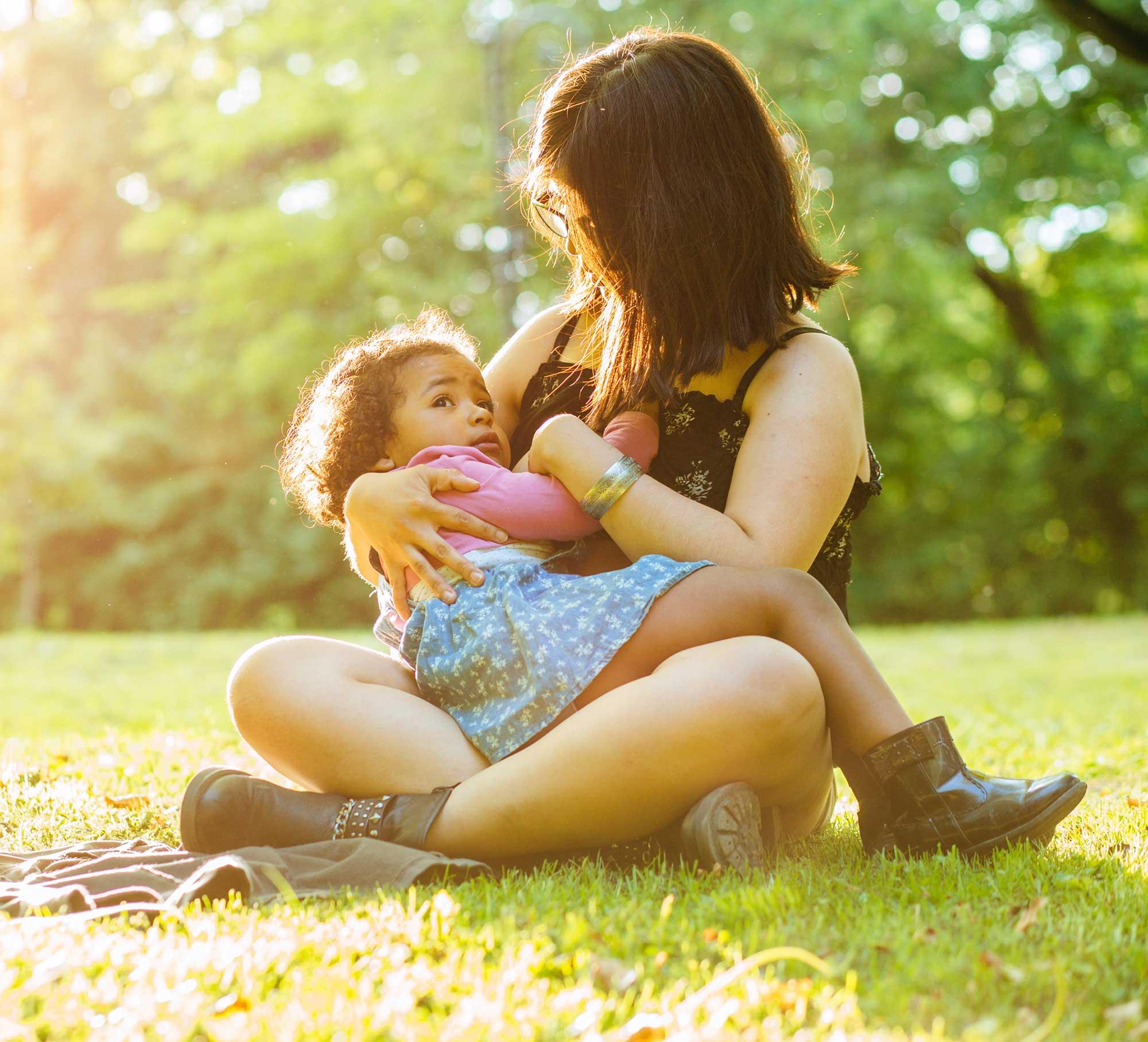 breastfeeding in the sun for vitamin D